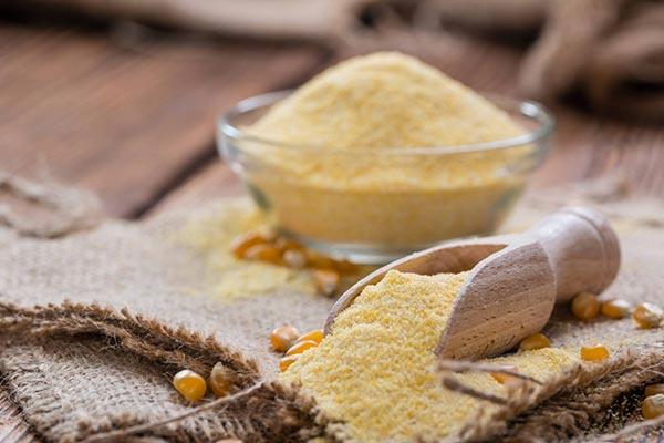 Farina senza glutine gialla mais