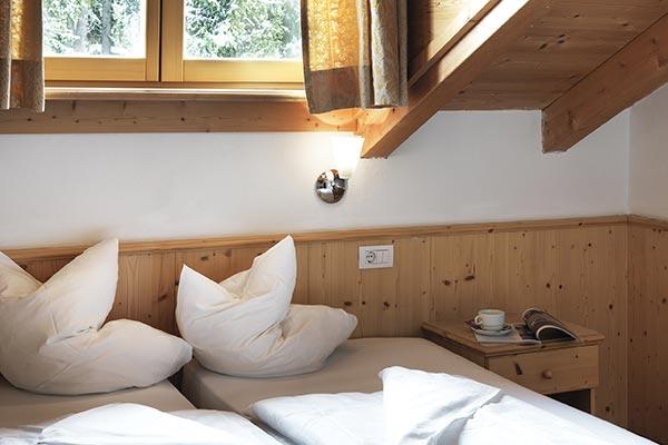 letti singoli camera senza balcone hotel villamadonna