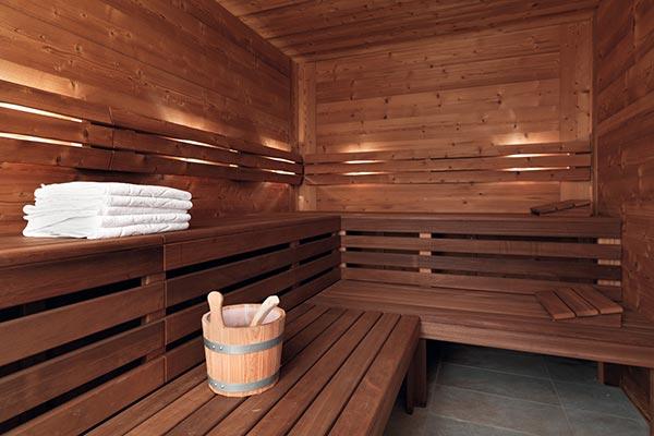 sauna hotel villamadonna