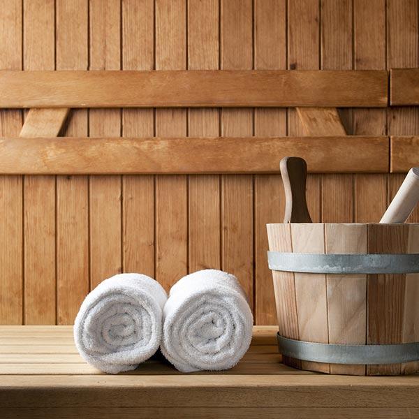 sauna wellness hotel villamadonna