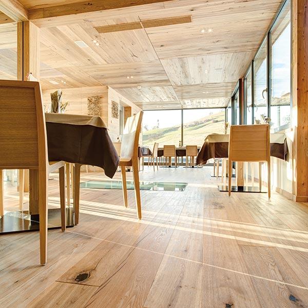 ristorante hotel villamadonna vista panoramica Alpe di Siusi