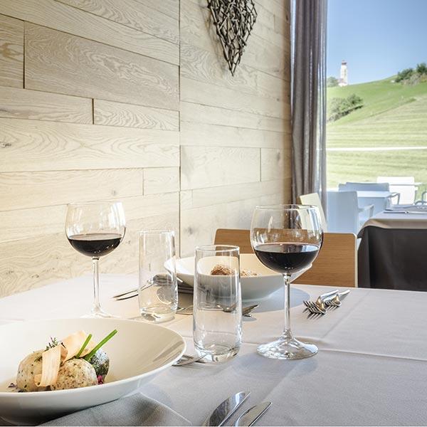 tavolo ristorante hotel villamadonna